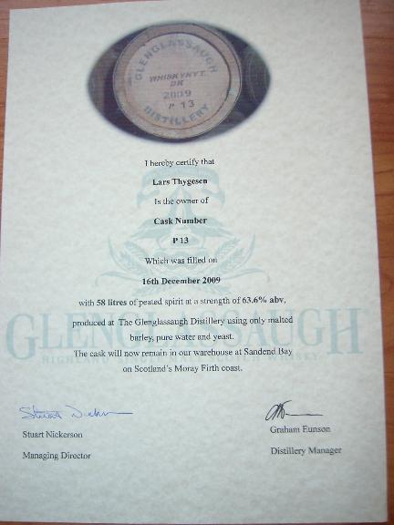 Glenglassaugh Peated